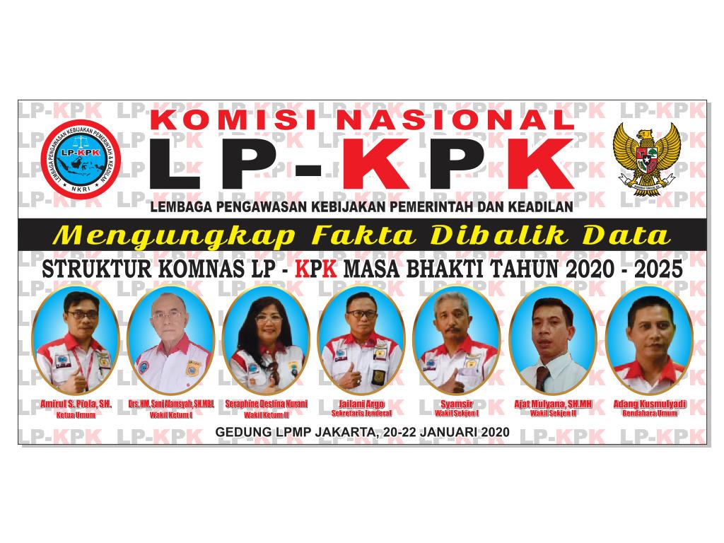 Struktur Komnas LP-KPK periode 2020-2025 - (Ada 0 foto)